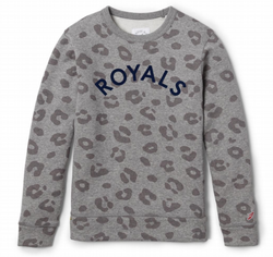 Youth Leopard Crew neck