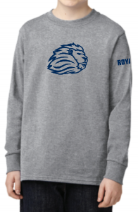 Youth Lion head Long sleeve