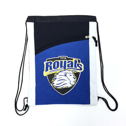 Cinch Bag Royal Shield Logo