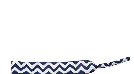 Sunglass Strap in Royal Chevron Stripe