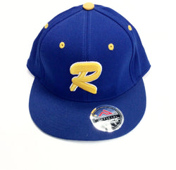 Baseball Cap Royal R logo