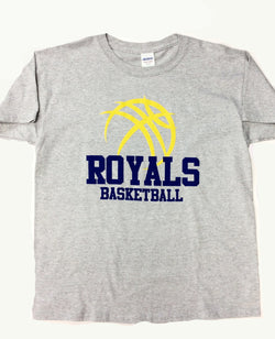 Basketball Gray T