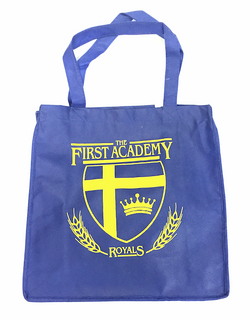 TFA Logo Shopping Bag Royal 12 x 12