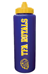 Sport Bottle (Blue/Yellow Lid)