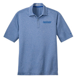 Men's Nike Golf Polo Heather Blue