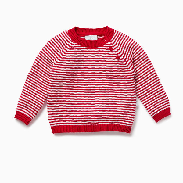 Candy Stripe Knitted Jumper