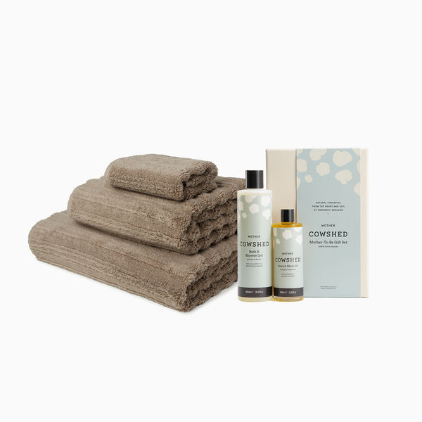 MORI Towels and Cowshed Mum-to-be Gift Set