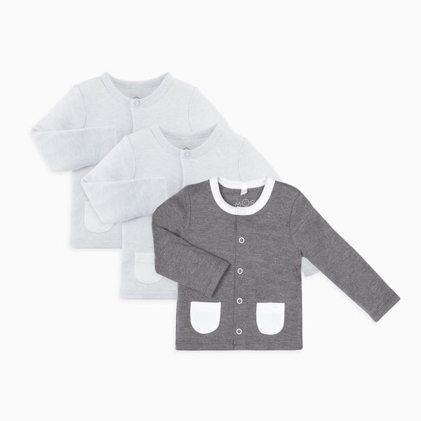 Grey & Lunar Cardigan 3-Pack