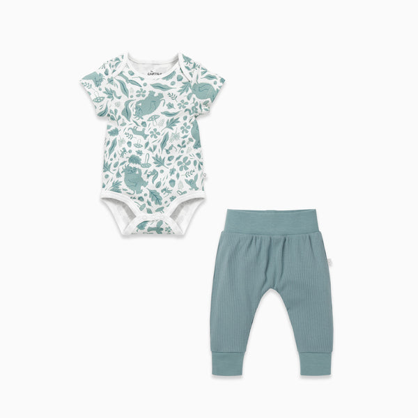Gruffalo Leaf Green Bodysuit & Joggers Outfit