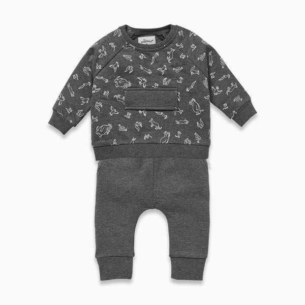 Gruffalo Stone Gray Day Set