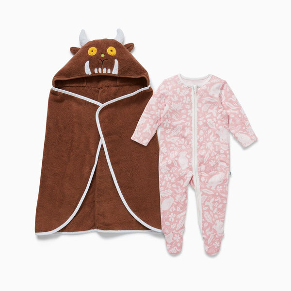 The Gruffalo Foxglove Pink Bath & Bedtime Set