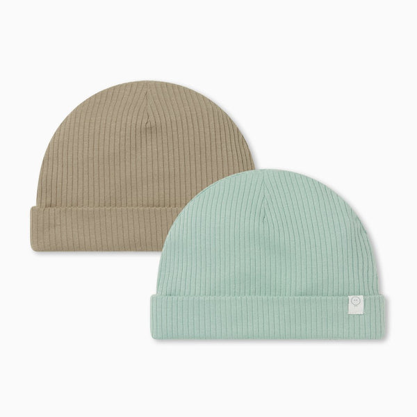 Ribbed Hat 2 Pack