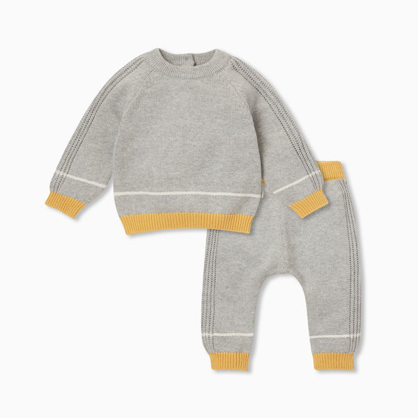Knitted Jumper & Joggers Outfit