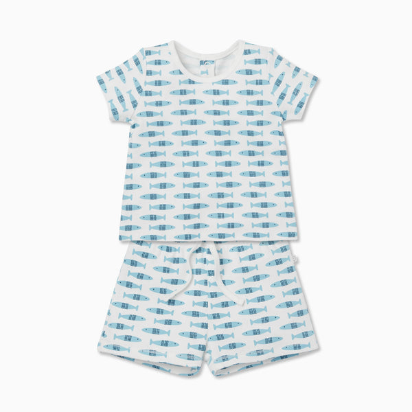 Little Fish Tee & Shorts Set