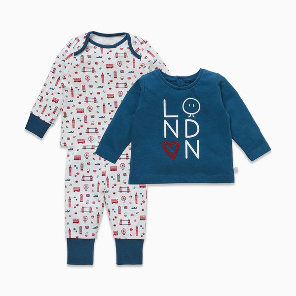 Mini London Tees & Leggings Set