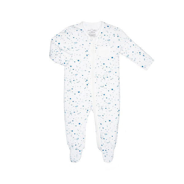 Space Zip-Up Sleep & Play One-Piece