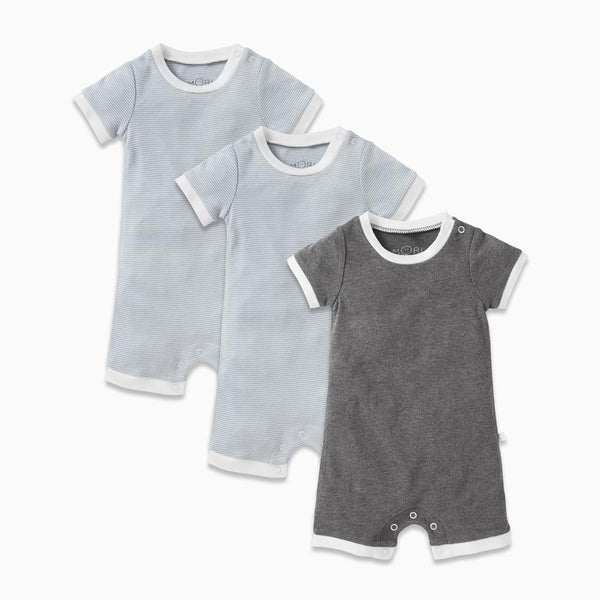 Sleep Romper One-Piece 3 Pack