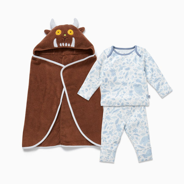 The Gruffalo Dragonfly Blue Bath & Sleep Set