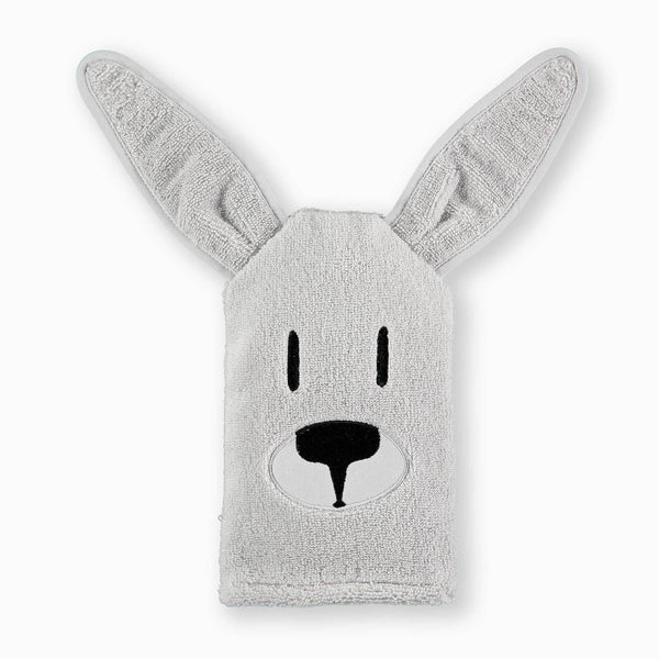 Kangaroo Washcloth Mitt