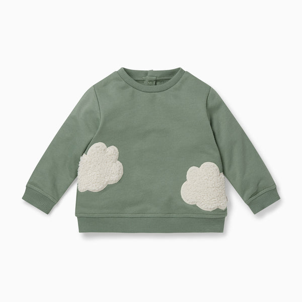 Khaki Cloud Sweater