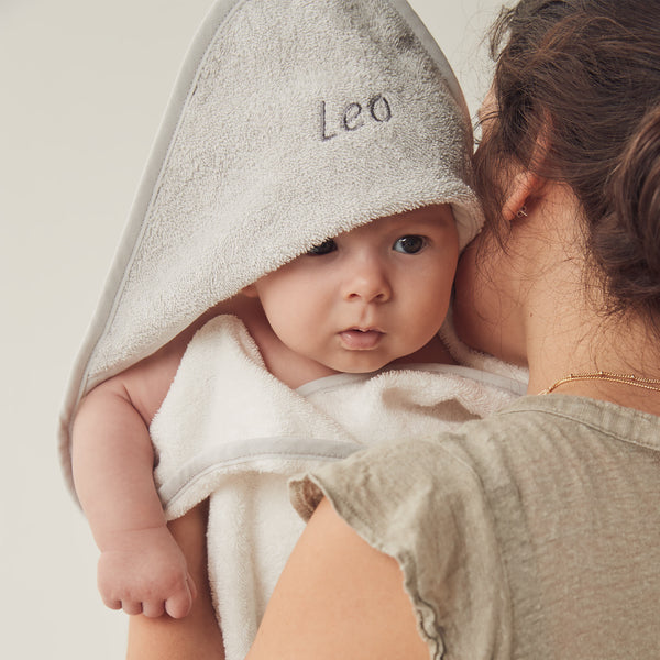 Personalized Hooded Baby Bath Towel