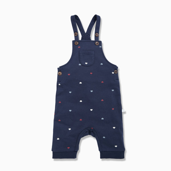 Hearts Overall Dungarees