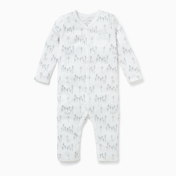 Forest Snap-Up Sleep & Play One-Piece