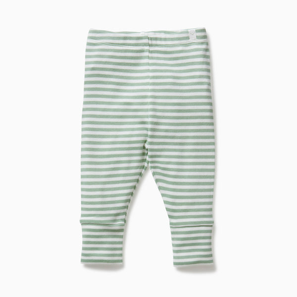 baby and toddler sage leggings