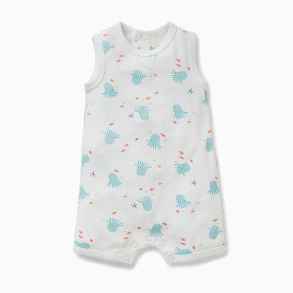 Octopus Shorthall Romper
