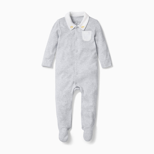 baby collar sleepsuit