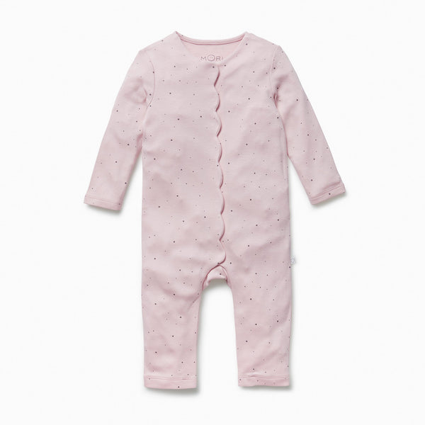 toddler regal scallop sleepsuit