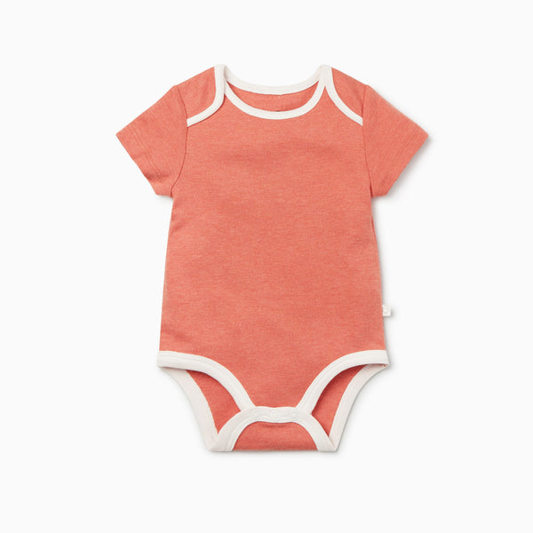 Coral Short Sleeve Bodysuit
