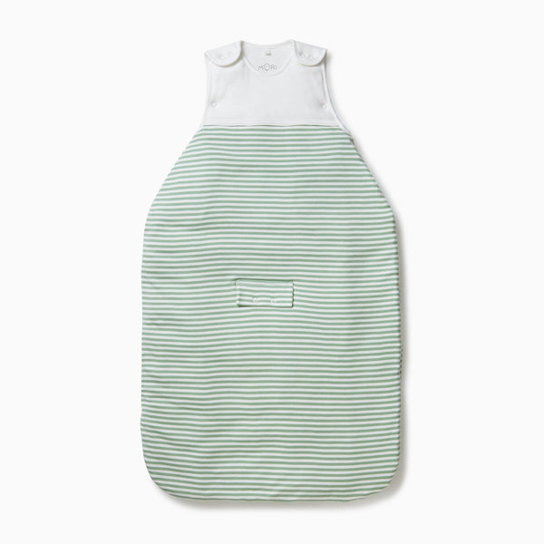 Sage Stripe Clever Sleeping Bag 2.5 TOG