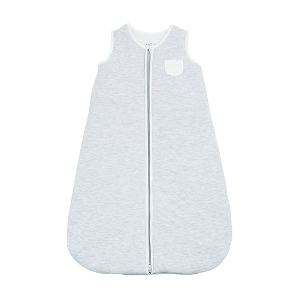 Grey Zip-Up Sleeping Bag