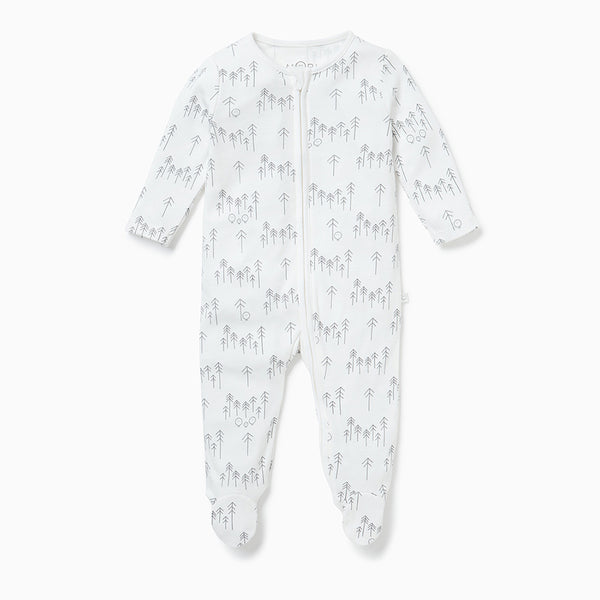 Forest Zip-Up Sleep & Play One-Piece