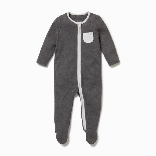 Lunar Zip-Up Sleep & Play One-Piece