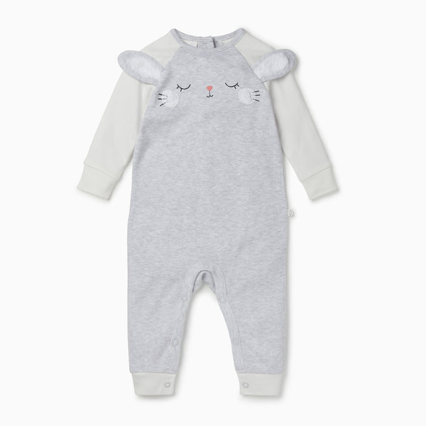 Bunny Raglan Sleep & Play One-Piece