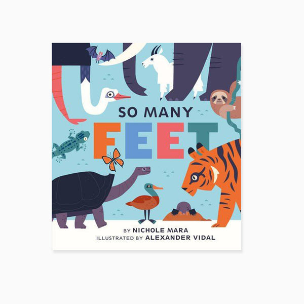 So Many Feet Board Book