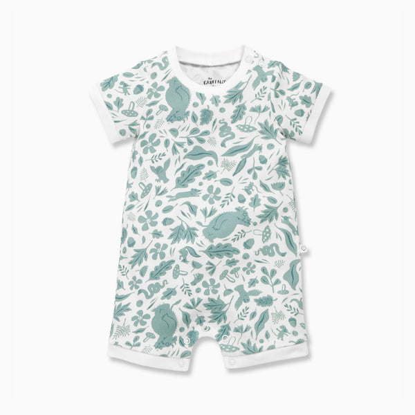 Gruffalo Leaf Green Romper One-Piece