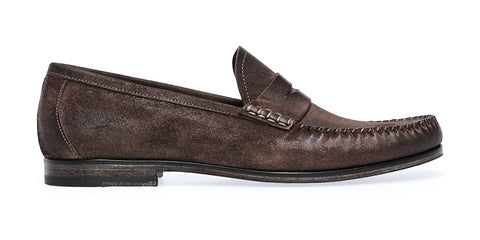 BANUS SADDLE LOAFER | Antracite