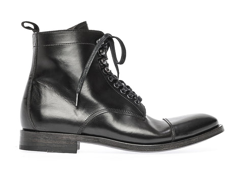 CLAIRE LACE UP BOOT | Nero
