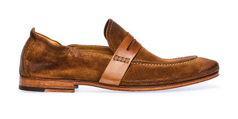 SACCHETTO LOAFER SADDLE | Sigaro