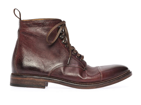 STANLEY LACE-UP BOOT  | Oxblood