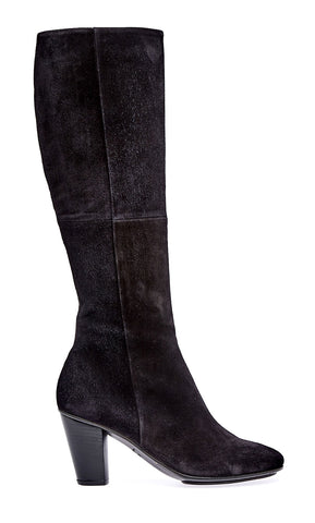 Knee zip boot