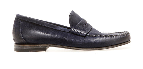 Banus Loafer Softy | Blue - ndc-made-by-hand