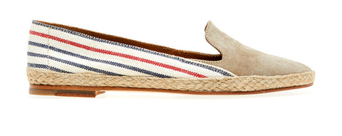 Cannes Softy/Linen | Antilop/Redbluestripe - ndc-made-by-hand
