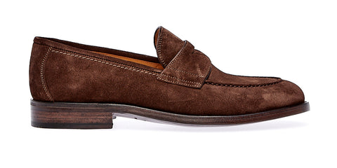 Crock  Saddle loafer | Ebano - ndc-made-by-hand