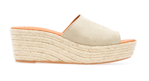 Agay  L Espadrille Wedge | Sabbia - ndc-made-by-hand