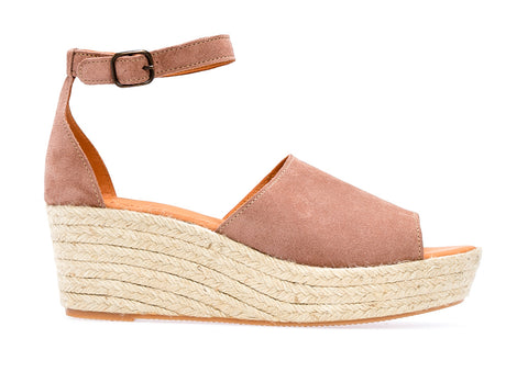 Lionel  L Espadrille Wedge | Cipria - ndc-made-by-hand