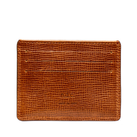 Card Holder | Caramel - ndc-made-by-hand